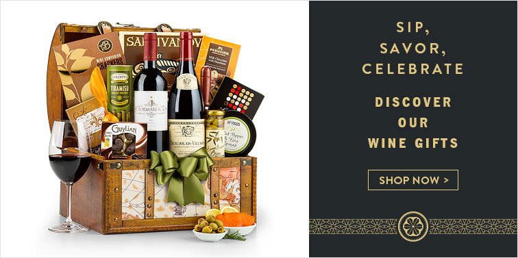 Sip, Savor, Celebrate. Discover Our Wine Gifts. Shop Now
