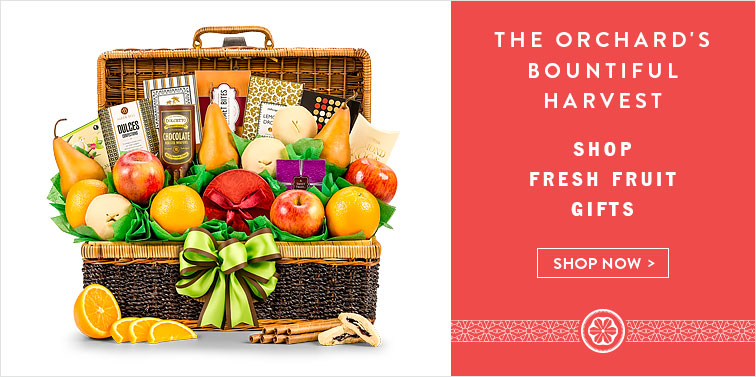 The Orchard's Bountiful Harvest. Shop Fresh Fruit Gifts. Shop Now