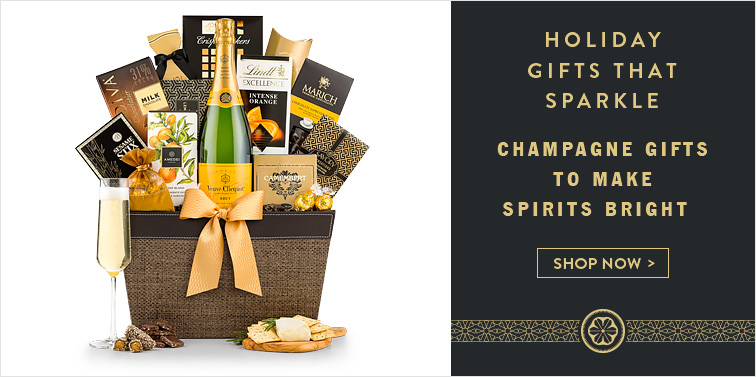 Champagne Gifts To Make Spirits Bright