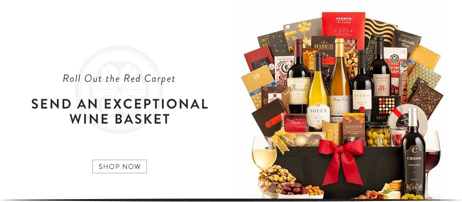 Send an Exceptional Wine Basket