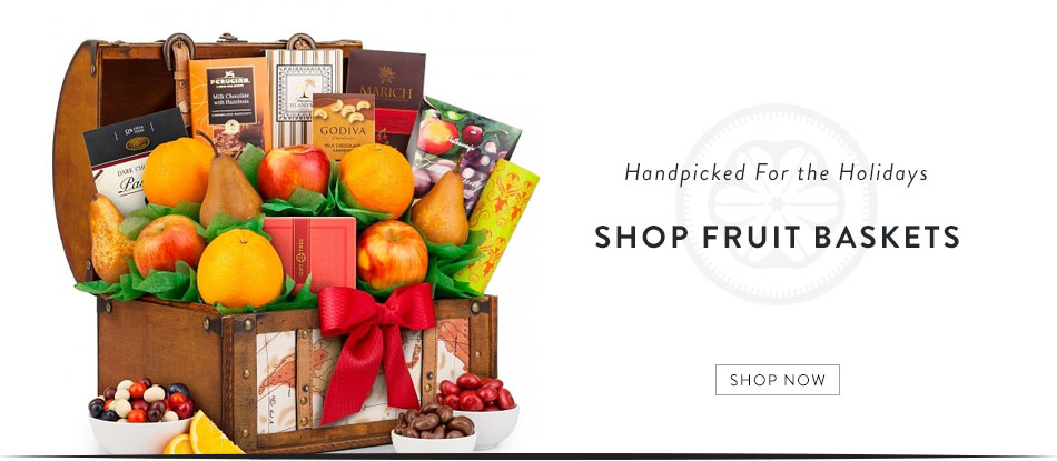 Shop Holiday Wine Baskets
