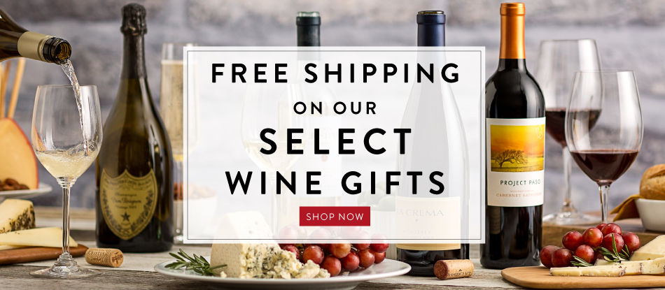 Free Shipping on our Select Wine Gifts