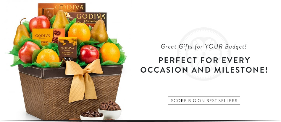 Great Gifts for Your Budget! Perfect for Every Occasion and Milestone! Score Big on Best Sellers!
