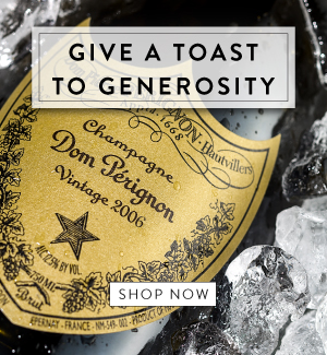 Give a Toast to generosity