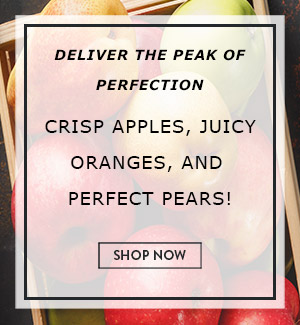 Deliver the Peak of Perfection! Crisp Apples, Juicy Oranges, and Perfect Pears!