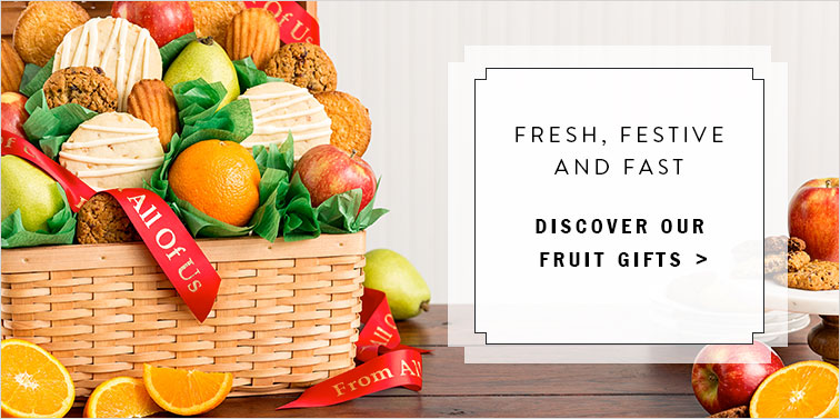 Discover Our Fresh Fruit Gifts