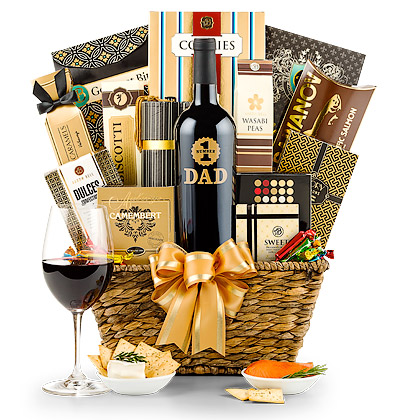 Father's Day Wine and Gourmet Gift