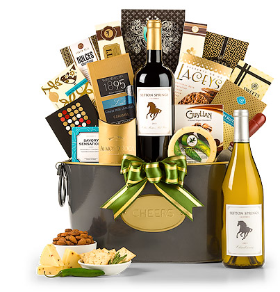 Vineyard Select Wine Basket