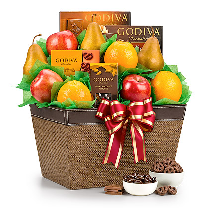 Fresh Fruit & Godiva Chocolates