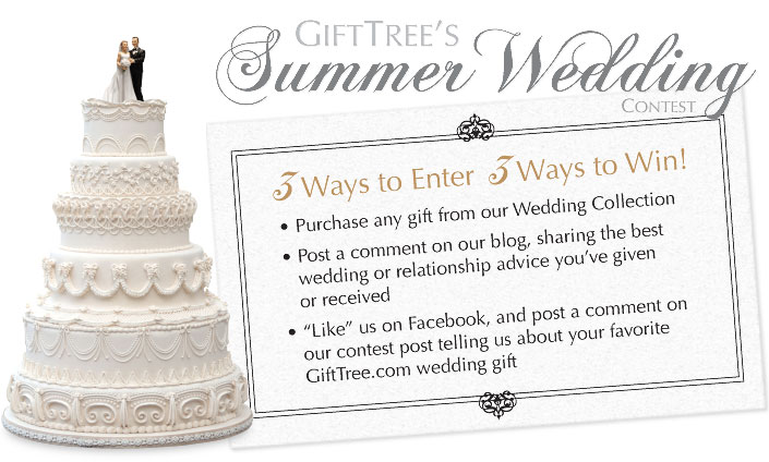 GiftTree's Summer Wedding Contest