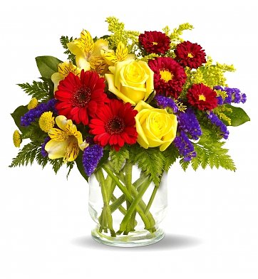 Flower Bouquets: Colorful Congrats Bouquet