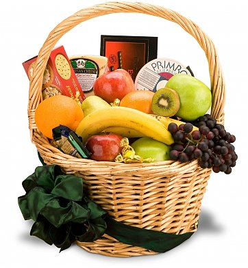 Food & Fruit Baskets: Extravagant Birthday Fruit Gift Basket