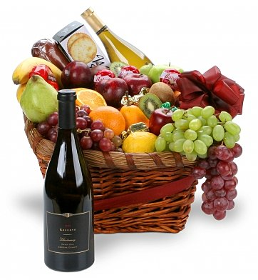 Wine & Fruit Baskets: Supporting You