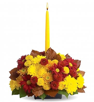 Flower Bouquets: Harvest Happiness Centerpiece
