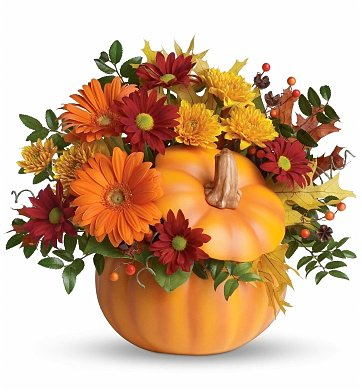 Flower Bouquets: Country Pumpkin Bouquet