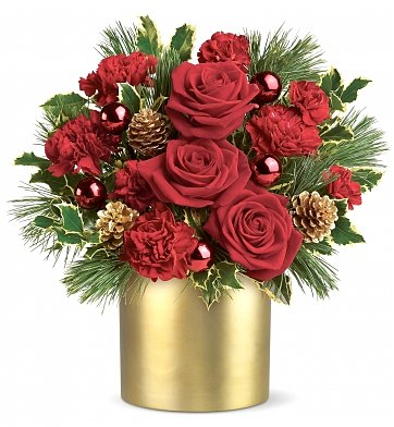 Flower Bouquets: Holiday Elegance Bouquet