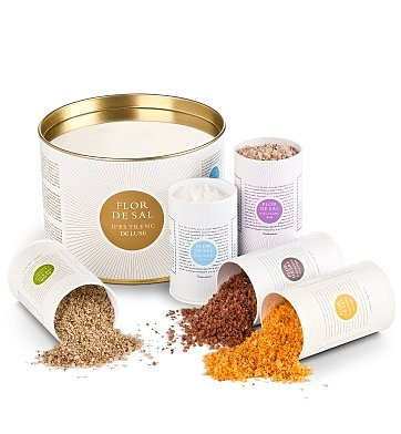 Specialty Gifts: Majorcan Sea Salt Collection