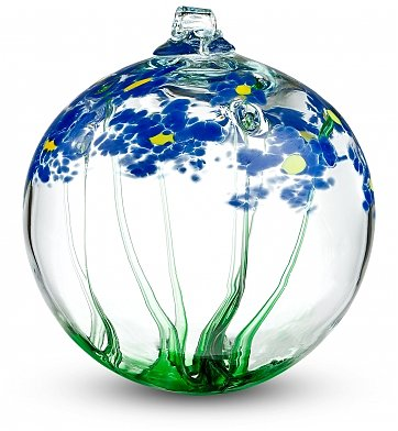 Specialty Gifts: Mother's Floral Enchantment Orb