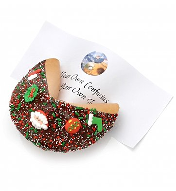 Cakes and Desserts: Giant Christmas Fortune Cookie