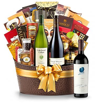 Premium Wine Baskets: Opus One 2009 - The Hamptons Luxury Wine Basket