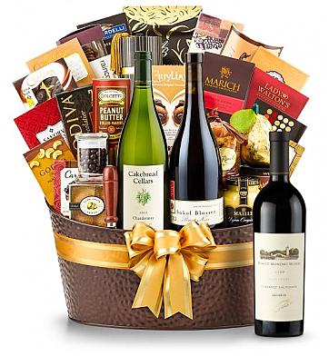 Premium Wine Baskets: Robert Mondavi Reserve Cabernet Sauvignon 2009 - The Hamptons Luxury Wine Basket