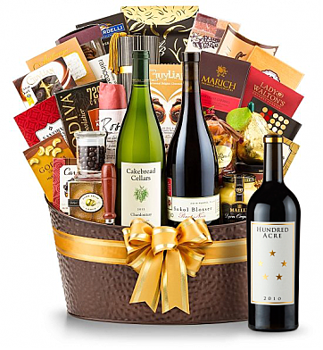 Premium Wine Baskets: Hundred Acre Ark Vineyard Cabernet Sauvignon 2010 - The Hamptons Luxury Wine Basket