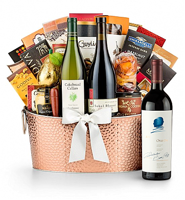 Premium Wine Baskets: Opus One 2012 - The Hamptons Luxury Wine Basket