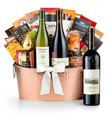 Premium Wine Baskets: Quintessa Meritage Red 2012 - The Hamptons Luxury Wine Basket