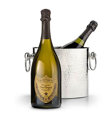 Wine Accessories & Decanters: Dom Perignon 2004 with Luxury Wine Chiller