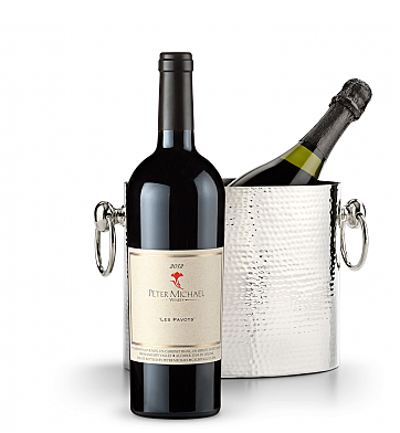 Wine Accessories & Decanters: Peter Michael Les Pavots 2012 with Luxury Wine Chiller