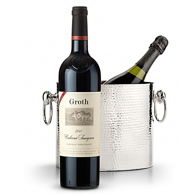 Wine Accessories & Decanters: Groth Reserve Cabernet Sauvignon 2011 with Luxury Wine Chiller