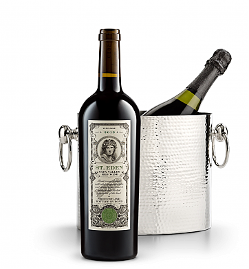 Wine Accessories & Decanters: Bond St. Eden 2013 with Luxury Wine Chiller