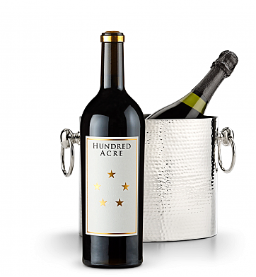 Wine Accessories & Decanters: Hundred Acre Few And Far Between Cabernet Sauvignon 2013 with Luxury Wine Chiller