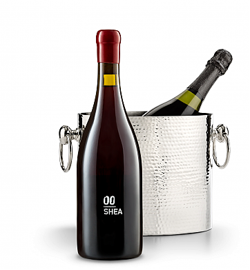 Wine Accessories & Decanters: 00 Shea Vineyard Pinot Noir 2014 with Luxury Wine Chiller