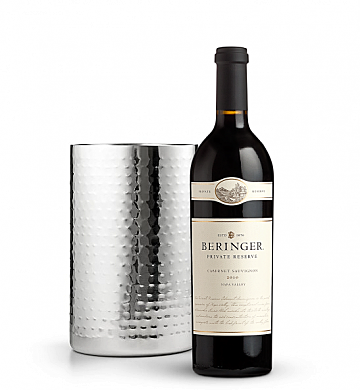 Wine Accessories & Decanters: Beringer Private Reserve Cabernet Sauvignon 2010 with Double Walled Wine Chiller