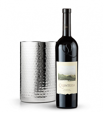Wine Accessories & Decanters: Quintessa Meritage Red 2011 with Double Walled Wine Chiller
