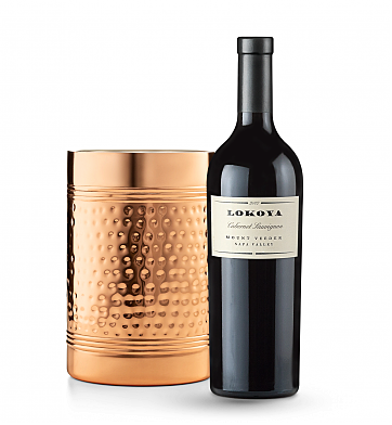 Wine Accessories & Decanters: Lokoya Mt. Veeder Cabvernet Sauvignon 2012 with Double Walled Wine Chiller