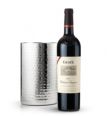 Wine Accessories & Decanters: Groth Reserve Cabernet Sauvignon 2011 with Double Walled Wine Chiller