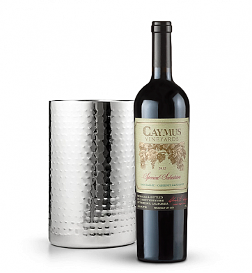 Wine Accessories & Decanters: Caymus Special Selection Cabernet Sauvignon 2012 with Double Walled Wine Chiller