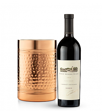 Wine Accessories & Decanters: Robert Mondavi Reserve Cabernet Sauvignon 2012 with Double Walled Wine Chiller
