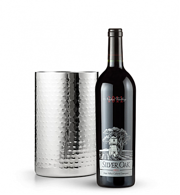 Wine Accessories & Decanters: Silver Oak Napa Valley Cabernet Sauvignon 2011 with Double Walled Wine Chiller