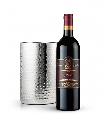Wine Accessories & Decanters: Leonetti Reserve Merlot 2008 with Double Walled Wine Chiller
