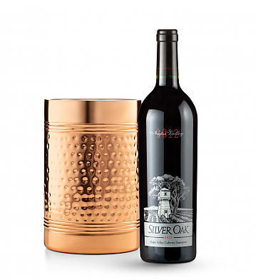 Wine Accessories & Decanters: Silver Oak Napa Valley Cabernet Sauvignon 2012 with Double Walled Wine Chiller