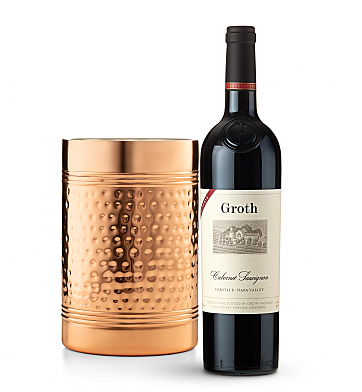 Wine Accessories & Decanters: Groth Reserve Cabernet Sauvignon 2013 with Double Walled Wine Chiller