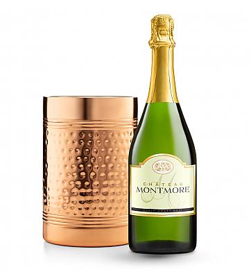 Wine Accessories & Decanters: Chateau Montmore North Coast Brut with Double Walled Wine Chiller