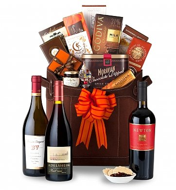 Luxury Wine Baskets: The Wine Connoisseur