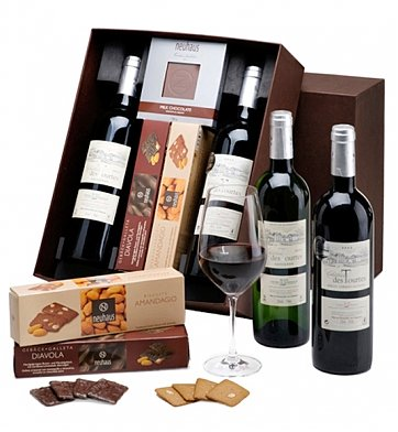 Wine Baskets: Hospitality Tray - Deluxe Edition