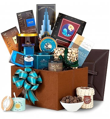 Chocolate & Sweet Baskets: Sincerest Sentiments Gourmet Collection
