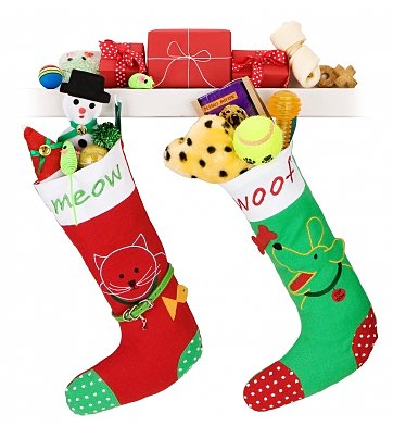 Pet Gift Baskets: Pet's Christmas Stocking