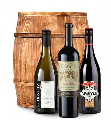 Wine Barrels: Caymus Special Selection Premium Wine Barrel